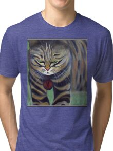 His Lordship Monty.. Tri-blend T-Shirt