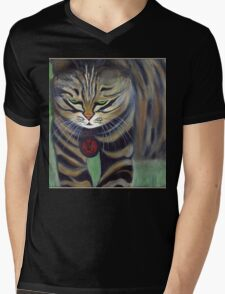 His Lordship Monty.. Mens V-Neck T-Shirt
