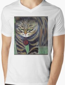 His Lordship Monty.. Mens V-Neck T-Shirt