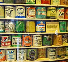 Oyster cans by Thad Zajdowicz