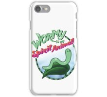 Wormy Is My Spirit Animal! iPhone Case/Skin