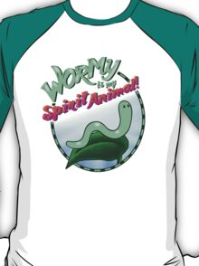 Wormy Is My Spirit Animal! T-Shirt