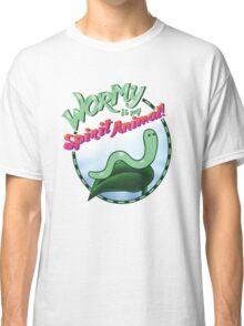 Wormy Is My Spirit Animal! Classic T-Shirt