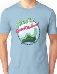 Wormy Is My Spirit Animal! Unisex T-Shirt