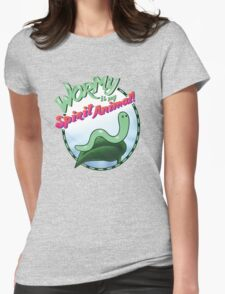 Wormy Is My Spirit Animal! Womens Fitted T-Shirt