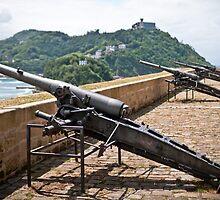 Napoleon's Cannons by Patrick Bongers