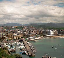 San Sebastian City by Patrick Bongers