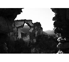 ghost town Photographic Print