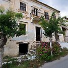 Empty House in Asos, Kefalonia by Melanie Simmonds