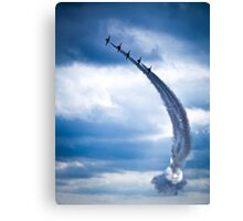 Sonic Arc Arrows. Canvas Print