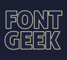 Font Geek One Piece - Long Sleeve