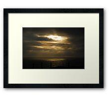 Sun Break Marin Headlands Framed Print