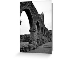 Balltinglass Abbey Co Wicklow,  Greeting Card