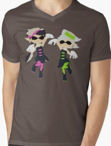 Callie & Marie - Splatoon Mens V-Neck T-Shirt