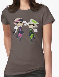 Callie & Marie - Splatoon Womens Fitted T-Shirt
