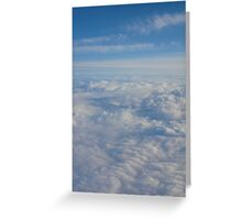 Fluffy Landscape Greeting Card