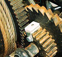 Rusty gears by Thad Zajdowicz