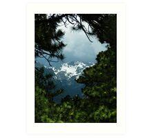 Mountain Frame Art Print