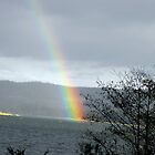 Somewhere over the alsea rainbow by Keely Forcier
