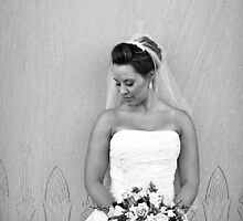 Bride & Flowers by Darrick Bartholomew