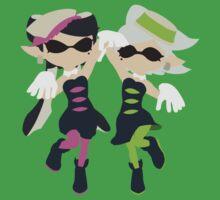 Callie & Marie (Pink) - Splatoon Kids Tee
