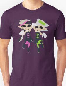 Callie & Marie (Pink) - Splatoon Unisex T-Shirt