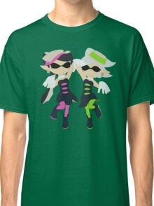 Callie & Marie (Green) - Splatoon Classic T-Shirt