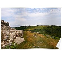 Southerly views from the Dewerstone Poster