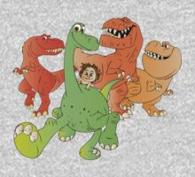 A Crew of Good Dinos Baby Tee