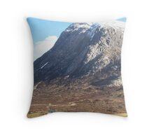 Glencoe, Scotland Throw Pillow
