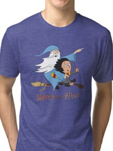 Harry and Albus Tri-blend T-Shirt