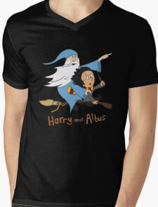 Harry and Albus Mens V-Neck T-Shirt
