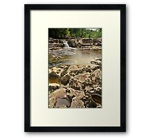 Redmire Force, Wensleydale Framed Print