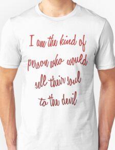Selling My Soul Unisex T-Shirt
