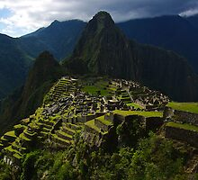 The Lost City - Machu Picchu, Peru by Phil McComiskey