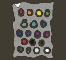 Rainbow Dots by James Lewis Hamilton