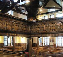 Kilbirnie Auld Kirk interior 2 by Ray Vaughan