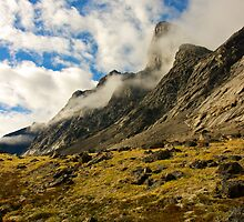 Ribbons of Cloud - Auyuittuq National Park, Canada by Phil McComiskey