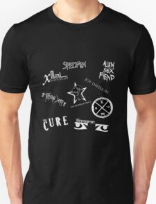 Goth Band Logos Unisex T-Shirt