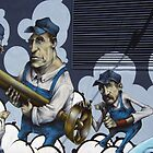Workers Graffiti by Jasna