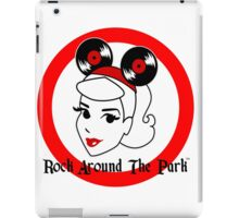 Official Rock Around The Park Merch iPad Case/Skin