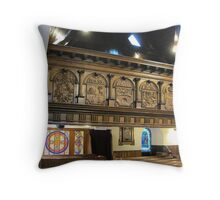 Kilbirnie Auld Kirk interior 9 Throw Pillow