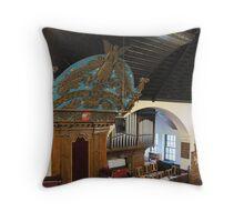 Kilbirnie Auld Kirk interior 14 Throw Pillow