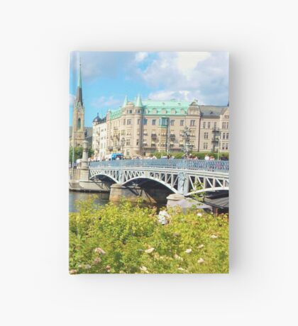 City of Stockholm Hardcover Journal