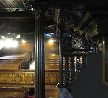 Kilbirnie Auld Kirk interior 18 by Ray Vaughan