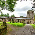 St Michaels Church-Brough  by Lilian Marshall