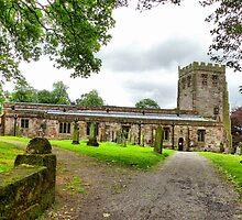 St Michaels Church-Brough  by Lilian Marshall