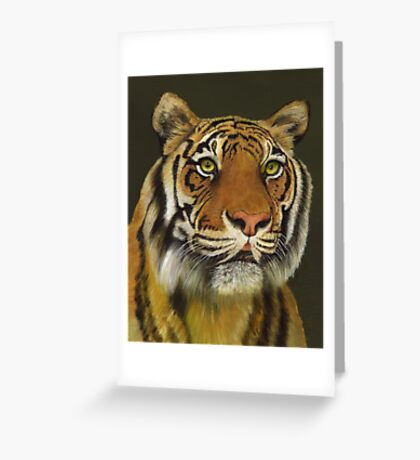 Bengal Tiger Portrait Greeting Card