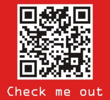 Check Me Out (QR code) by jezkemp