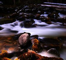 Silky Stream by ayresphoto